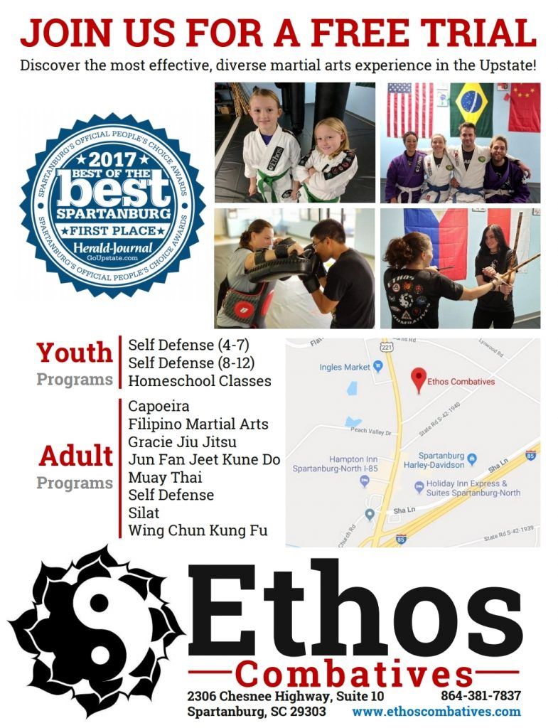 Ethos Combatives Flyer